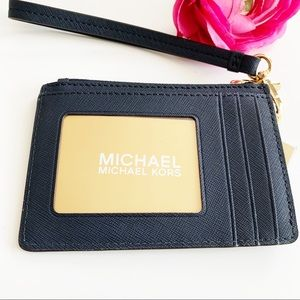NWT Michael Kors Coin Purse Jet Set Wristlet